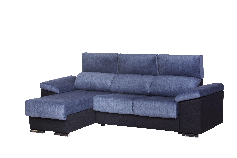 Sof chaise longue aneto bazar del colch n castell n for Chaise longue azul turquesa